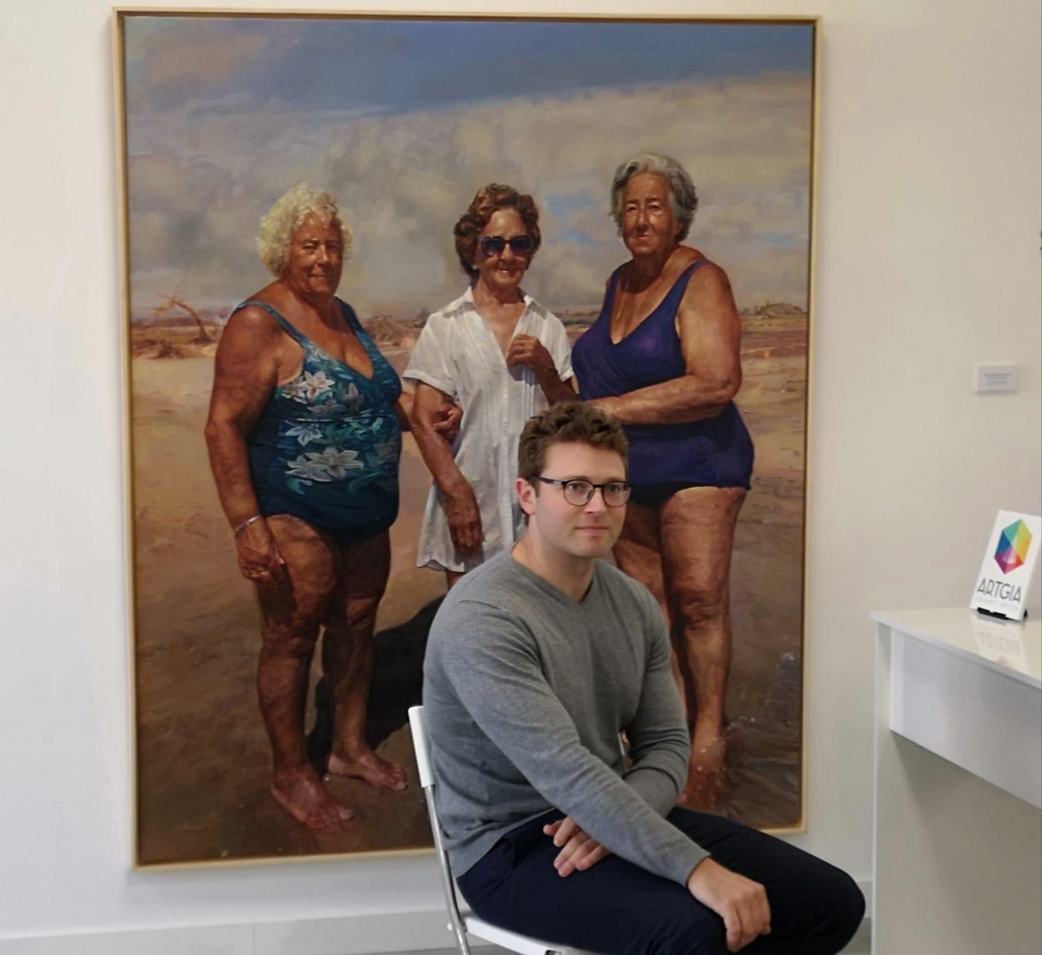 ARTgia acoge la primera exposición individual en Gasteiz de Eduardo Alsasua