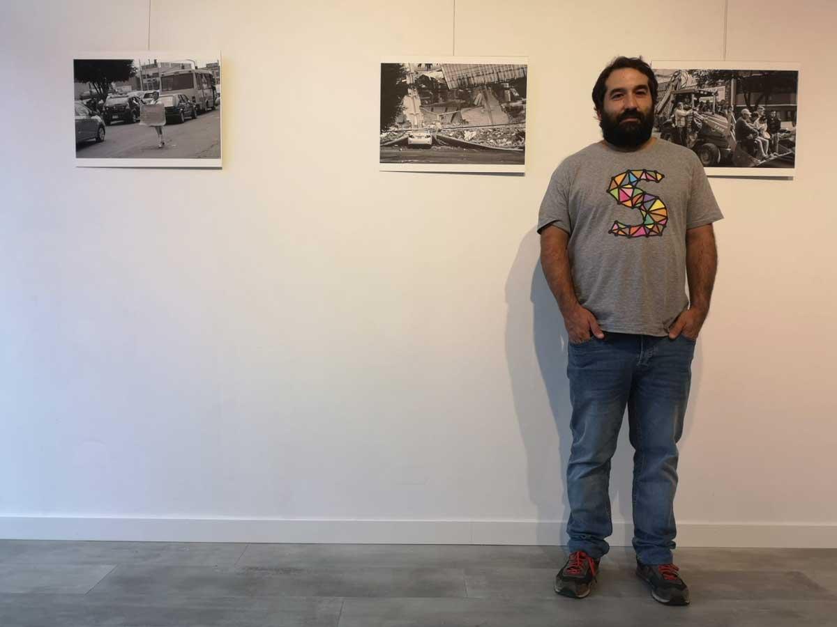 """El fotografo Uraitz Soubies regresa a Gasteiz tras """"10 años y un terremoto"""""""