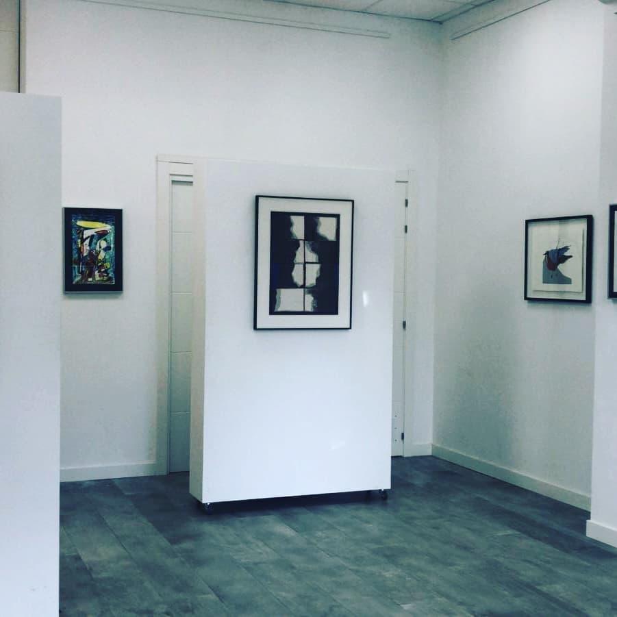 Usoa Zumeta presenta obras estampadas y editadas en ARTgia.