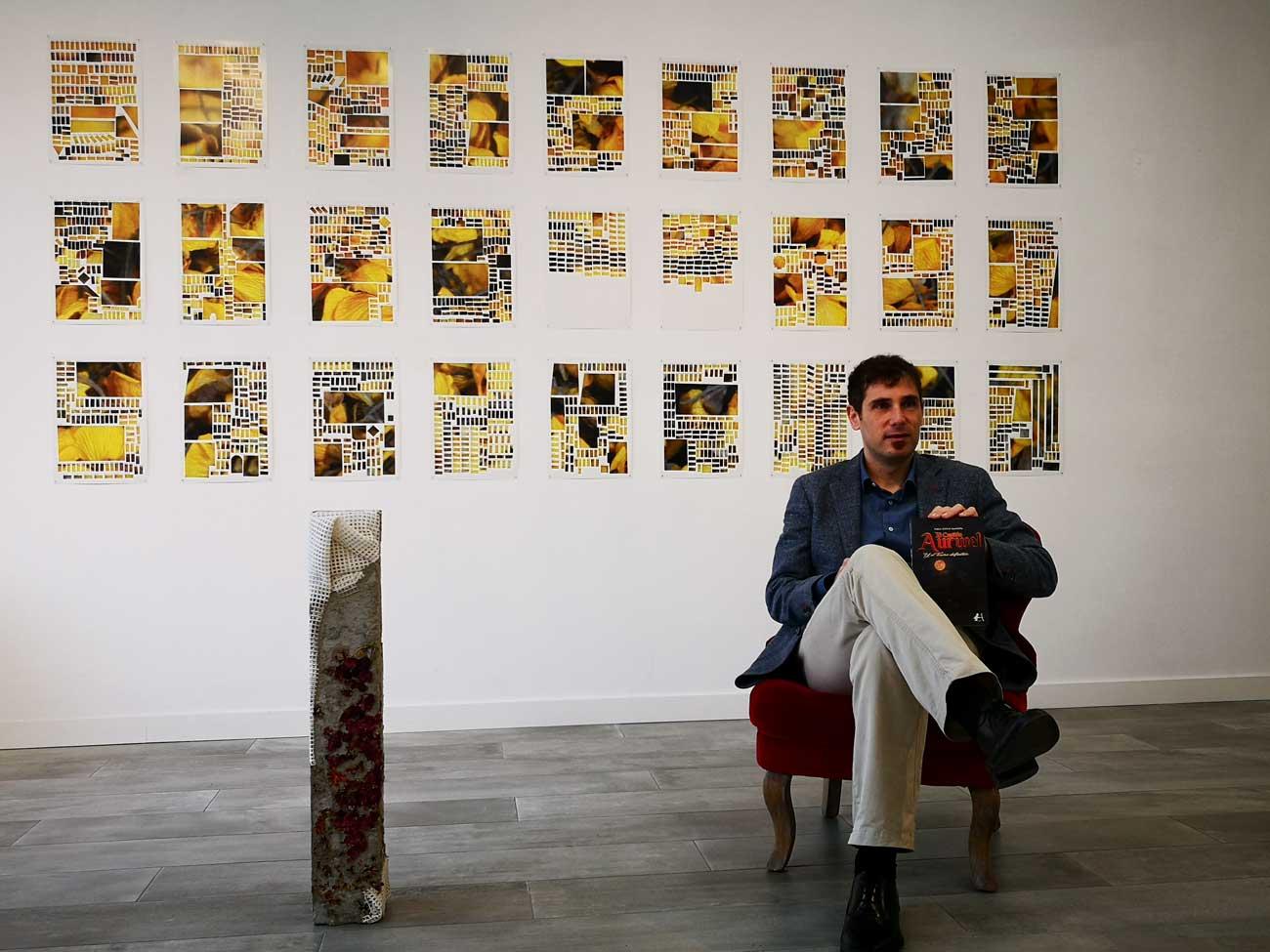 El escritor Pablo Espejo Saavedra presenta su novela El capitán Aurwel y el tesoro definitivo
