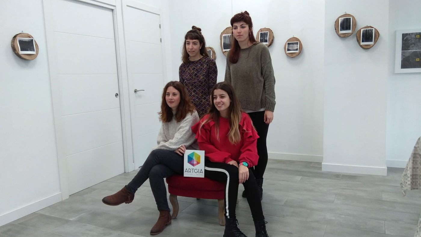 ARTgia selecciona a tres jóvenes artistas de Araba en su convocatoria EmART