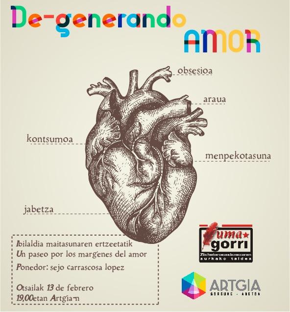 Degenerando amor: Sejo Carrascosa (Hitzaldia-Charla)